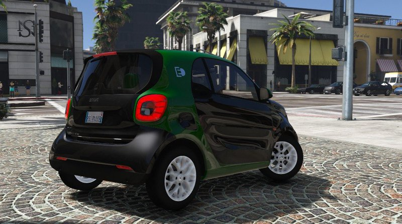 gta 5 smart fortwo electric drive add on mod. Black Bedroom Furniture Sets. Home Design Ideas
