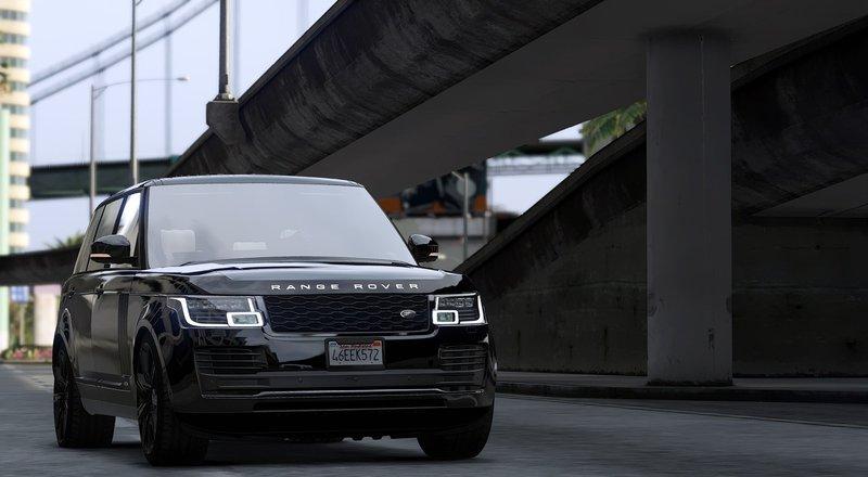 Gta 5 Land Rover Range Rover Sv Autobiography Lwb18 Mod Gtainside