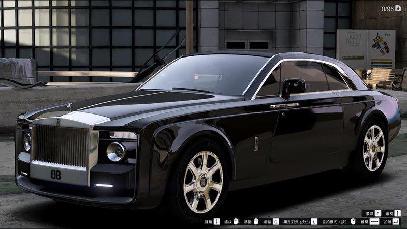 GTA 5 Rolls Royce Sweptail Mod - GTAinside.com