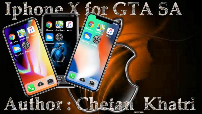 GTA San Andreas Apple iPhone X (useable) Mod - GTAinside com