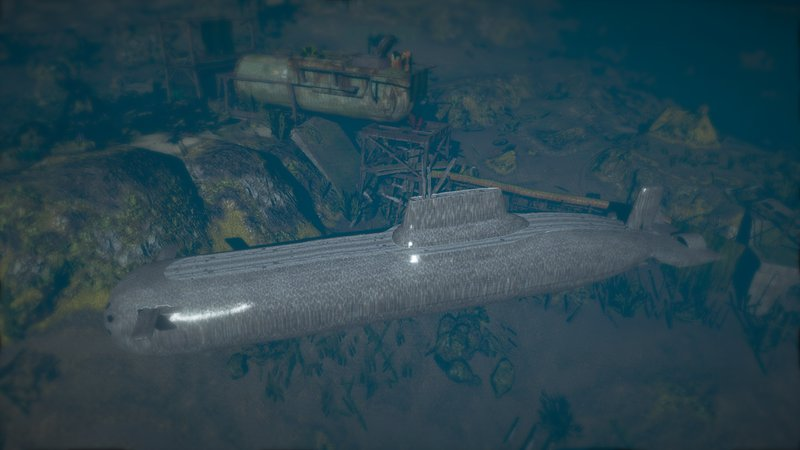 GTA 5 Doomsday submersible drivable V1 2 (addon) Mod