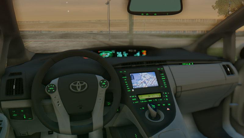 Gta San Andreas 2010 Toyota Prius Mod