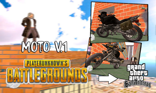 Moto De Playerunknow´s Battlegrounos V.1