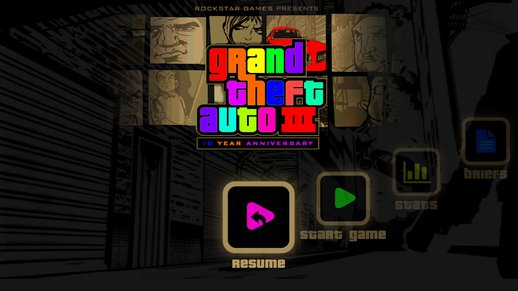 GTA3 Colorful Buttons And Icons