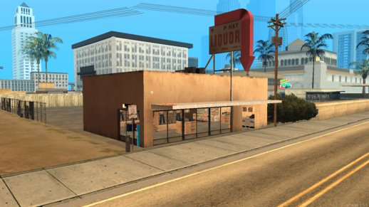 Exteriored Clothes Store - Los Santos