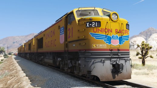 联合太平洋铁路燃气轮机车 Union Pacific 8500 HP Gas Turbine-Electric Locomotives [Add-On | Replace]