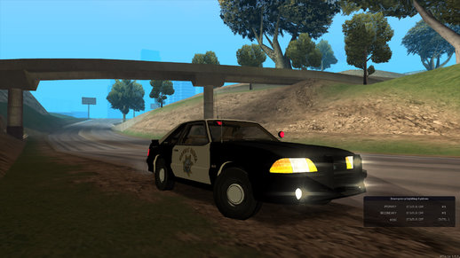 CHP/SAHP 1993 Ford Mustang SSP