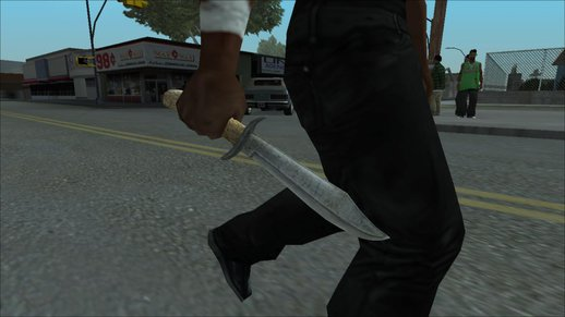 Bowie Knife From Dead Rising 2