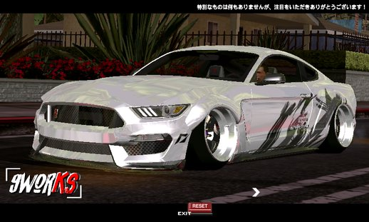 Ford Mustang GT350R 2016 Widebody Kit By Wandesign
