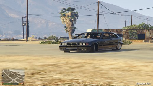 BMW M3 E36 HB BY Barmex34