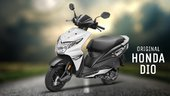 Honda Dio - Indian Scooty