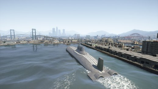 Doomsday submersible drivable V1.2  (addon)