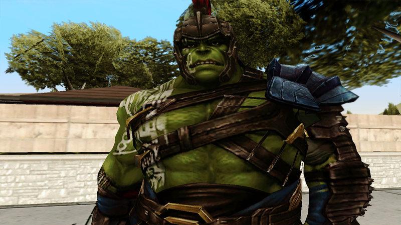GTA San Andreas Marvel Future Fight - Hulk (Thor: Ragnarok