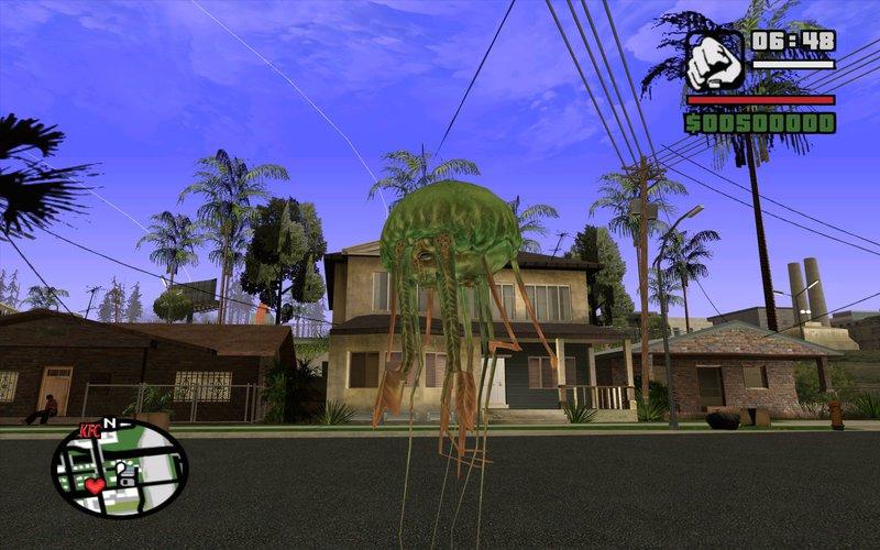 GTA San Andreas Doctor Who The Adventure Games: RUTAN Mod