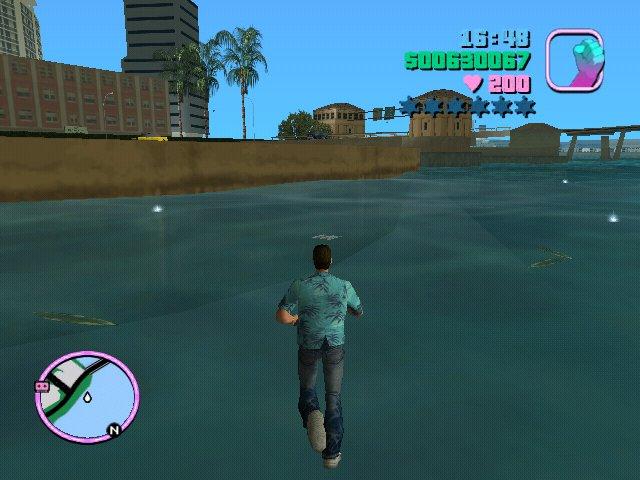 Gta Vice City Walk On Water Mod Gtainside Com