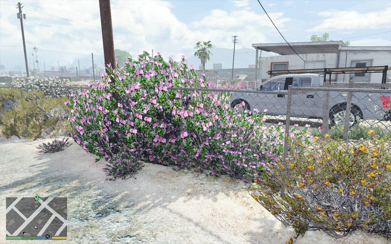 GTA 5 L A  Vegetation Mod - GTAinside com