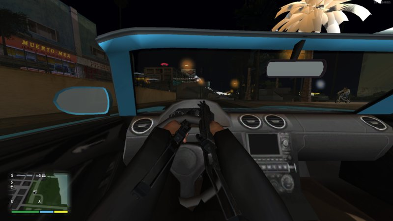 GTA San Andreas First Person V3 0 (Fixed) Mod - GTAinside com