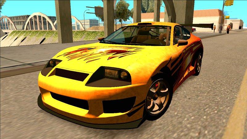 San Andreas New Cars