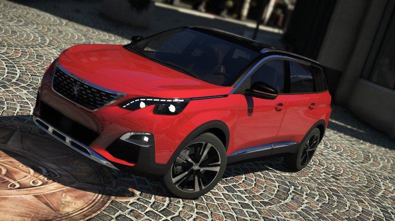 GTA 5 Peugeot 5008 2018 [Add-On] Mod - GTAinside com