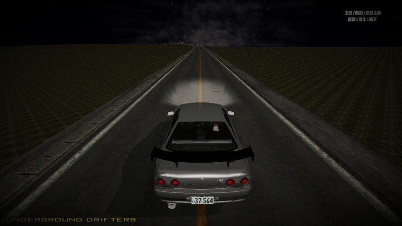 gta san andreas initial d fifth stage shinigami r32 gt r