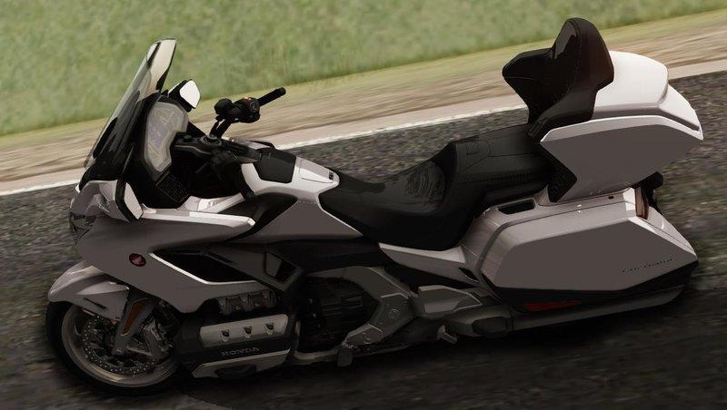 GTA San Andreas 2018 Honda Goldwing DCT Mod - GTAinside com