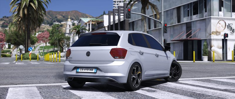 gta 5 volkswagen polo r line 2018 replace mod. Black Bedroom Furniture Sets. Home Design Ideas