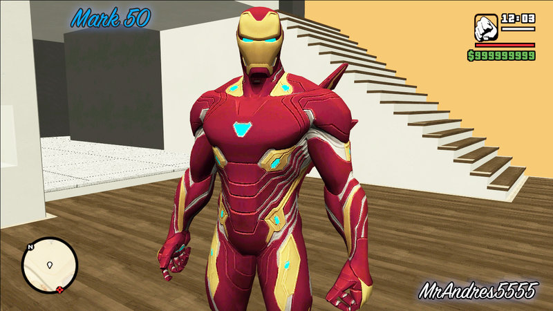 GTA San Andreas IronMan (Mark 50) from Avengers: Infinity