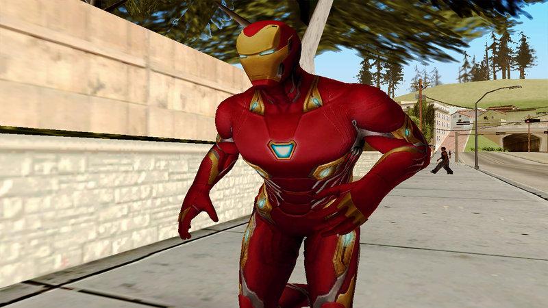 GTA San Andreas Marvel Future Fight - Iron Man (Infinity War