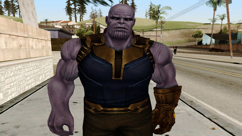 GTA San Andreas Marvel Future Fight - Thanos (Infinity War