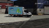 Portuguese Refrigerated Logistics Transportation - Iveco Daily [Replace/Livery]