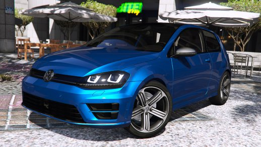Volkswagen Golf VII R 2014 [Add-on / Replace | Tuning]