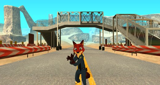 Nick Wilde from Disney Infinity 3.0