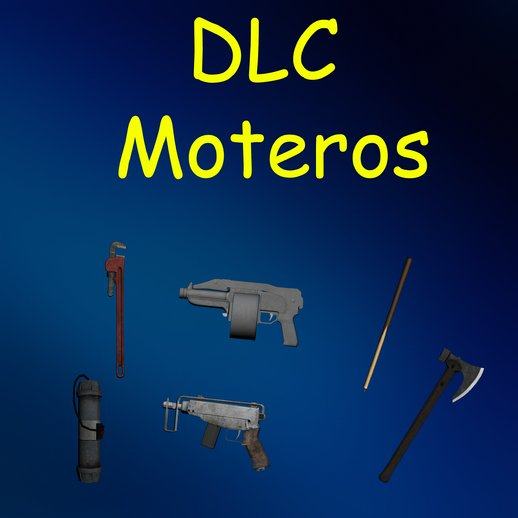 Weapons DLC Moteros from GTA V To SA