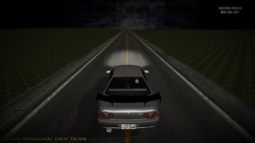 Initial D Fifth Stage Shinigami R32 GT-R