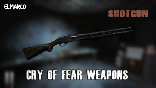 Shotgun from Cry Of Fear for GTA SA