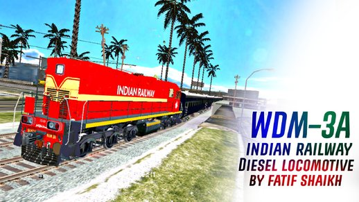 Indian Diesel Locomotive | Train Engine | WDM-3A