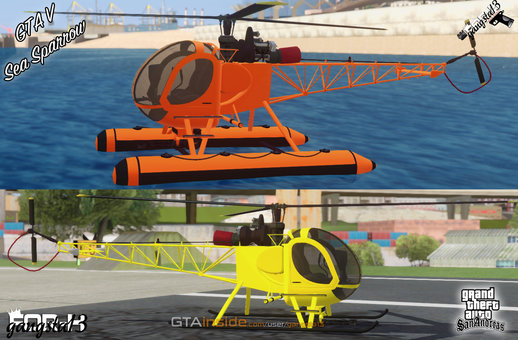 GTA V Sea Sparrow