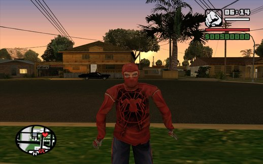 Spider-Man The Game: Wrestler Suit