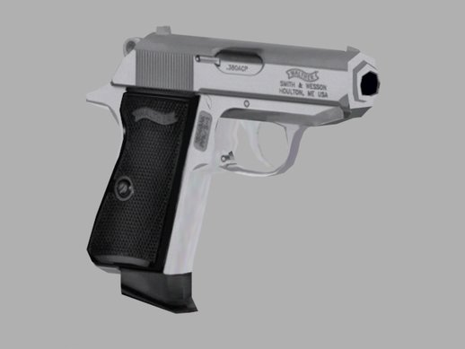 Walther PPK (LOW poly)