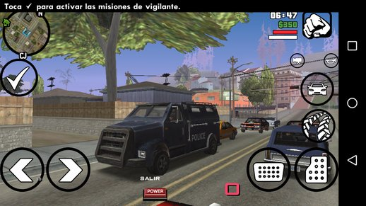 VC Securicar To Manhunt Police Truck + Variant