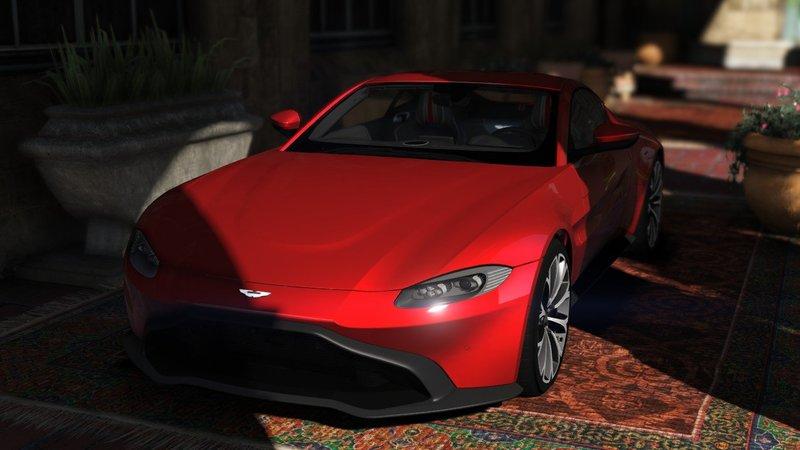 Gta 5 2019 Aston Martin Vantage Add On Replace Mod Gtainside Com