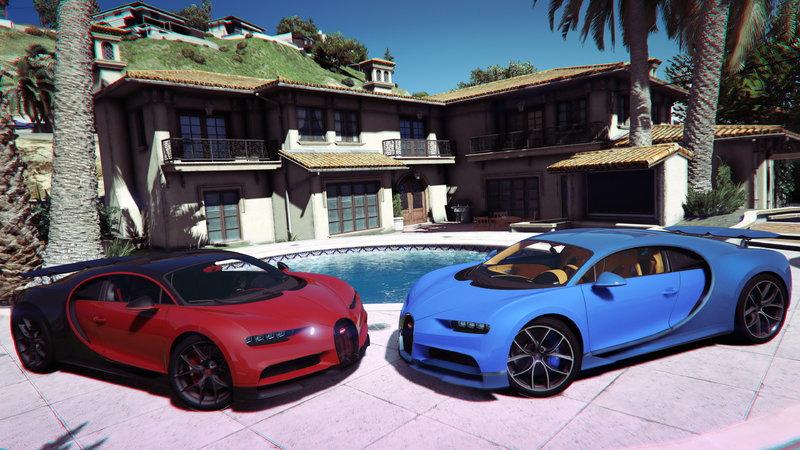 GTA 5 2019 Bugatti Chiron Sport Mod - GTAinside com