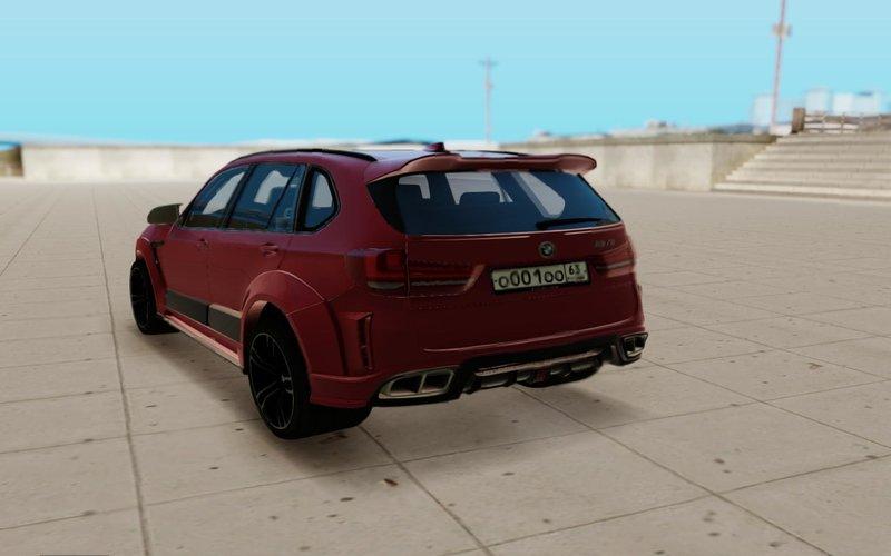 GTA San Andreas BMW X5M Regendage Mod - GTAinside com