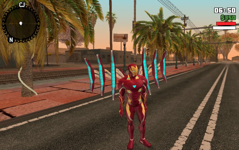 GTA San Andreas Iron Man Mark 50 Mod - GTAinside com