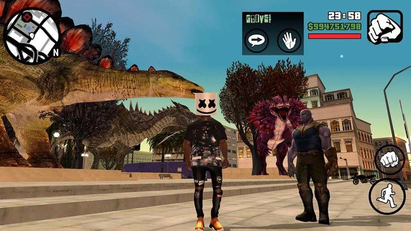 GTA San Andreas Thanos Mod - GTAinside com