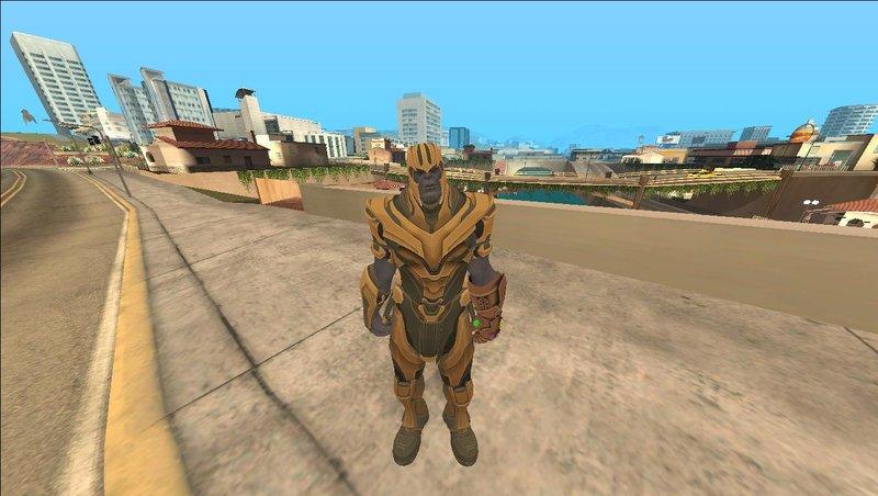 Gta San Andreas Thanos From Fortnite Mod Gtainside Com