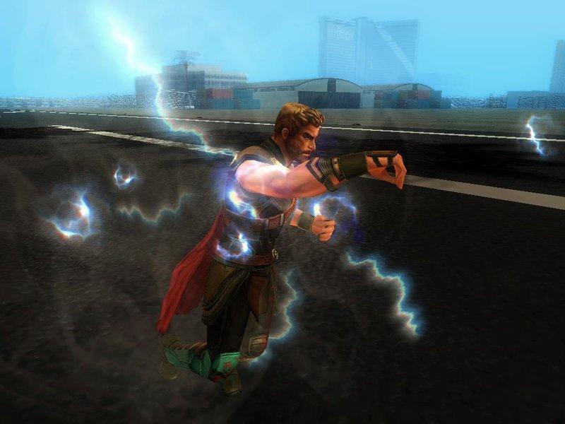 GTA San Andreas Thor Ragnarok Mod (with Powers) Mod