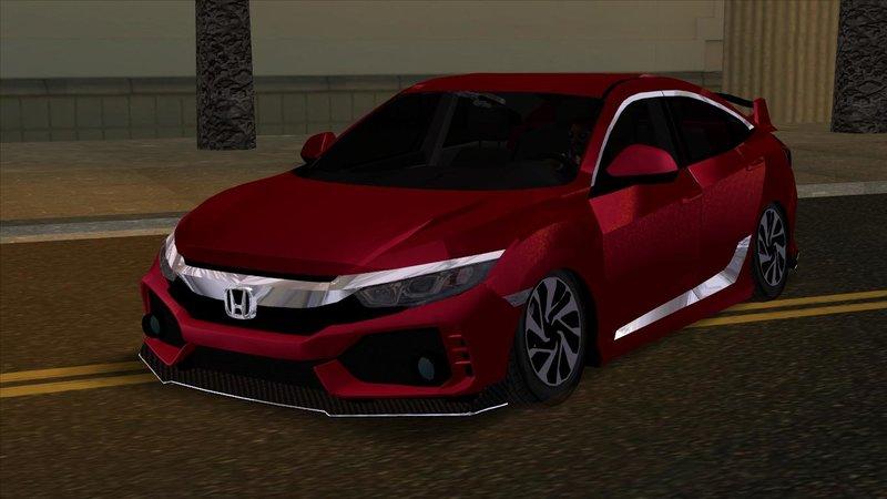 GTA San Andreas Kafkas Performance Honda FC5 Mod - GTAinside com