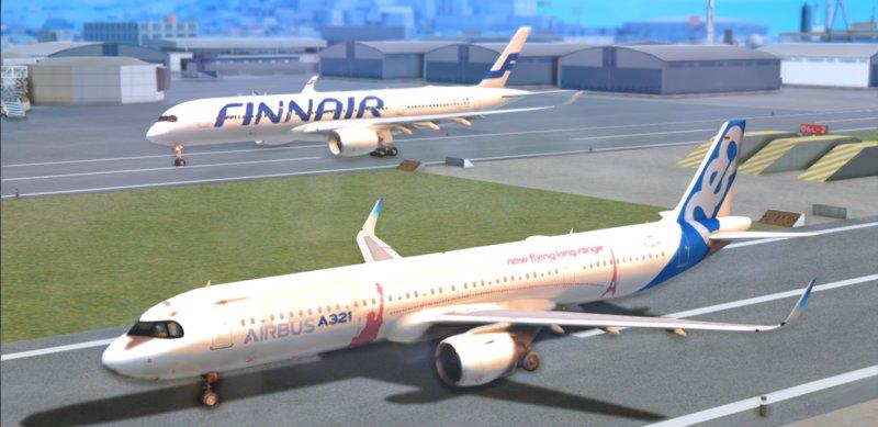 GTA San Andreas Airbus A321LR Mod - GTAinside com