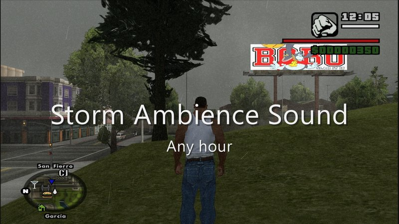 GTA San Andreas New Nature Ambience Sound Pack CLEO MOD Mod